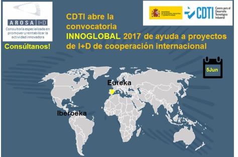 AROSA I+D CDTI INNOGLOBAL 2017