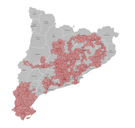 Cataluña_Mapa Alto Impacto2017